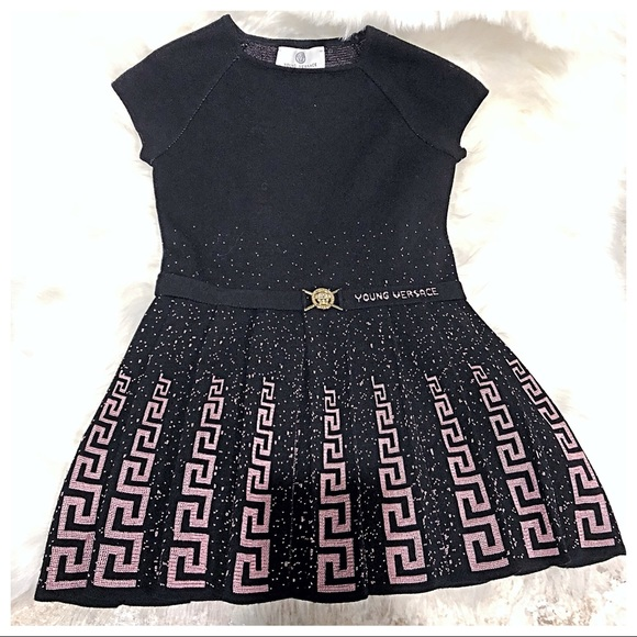 0fa9ed467 Girls Young Versace Dress. M_5b76d9055bbb804f8a5bbab3